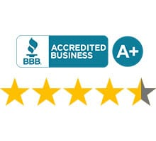Top Rated Restoration Company with BBB